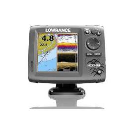 LOWRANCE HOOK-5 ICE MACHINE FISHFINDER GPS CHARTPLOTTER