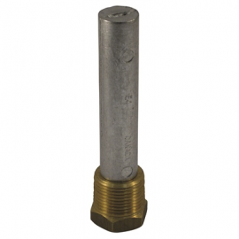 Zinc Engine Anodes with Brass Plugs