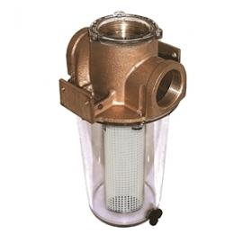 "GROCO ARG-2000 Series 2"" Raw Water Strainer w/Non-Metallic Plastic Basket"