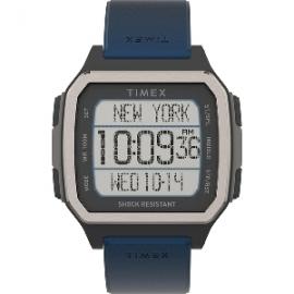 Timex Command Urban 47mm - Black Case w/Blue Strap