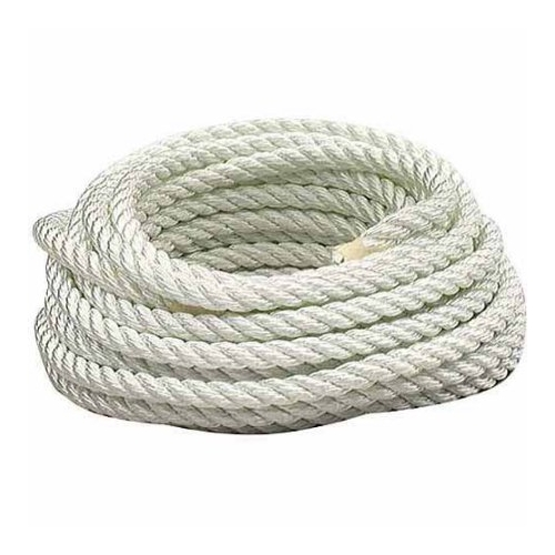 White Nylon Rope 1/2