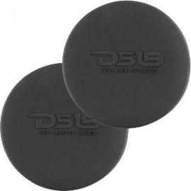 "DS18 Silicone Marine Speaker Cover f/6.5"" Speakers - Black"