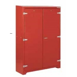 Storage cabinet for lifejackets