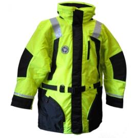 First Watch Hi-Vis Flotation Coat - Hi-Vis Yellow/Black - Medium