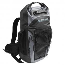 DryCASE Masonboro Gray 35 Liter Waterproof Adventure Backpack