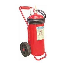 50L Foam Extinguisher, Cartridge, Wheeled, A.B.S