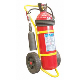20 Kg Fire Extinguisher, Co₂, Stored Pressure, Wheeled, A.B.S